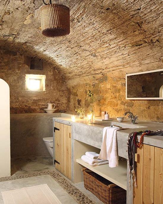 ιδέες σχεδιασμού μπάνιου από φυσική πέτρα5
