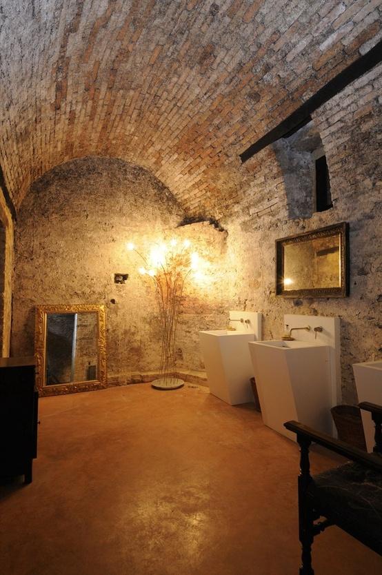 ιδέες σχεδιασμού μπάνιου από φυσική πέτρα8