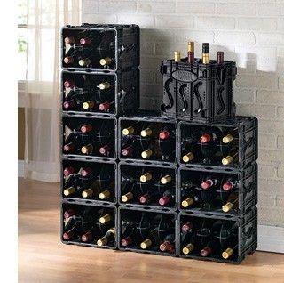 Diy κατασκευές με ράφια για κρασιά11