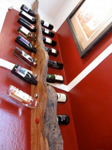 Diy κατασκευές με ράφια για κρασιά2