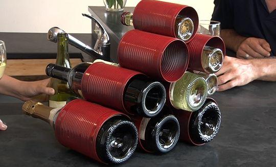 Diy κατασκευές με ράφια για κρασιά7