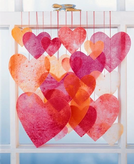 Διακόσμηση Αγίου Βαλεντίνου καρδιές4