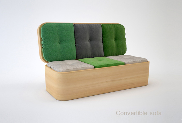 Καναπές που μεταμορφώνετε σε τραπέζι1