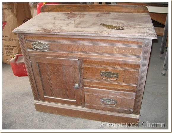 μετατροπή παλιού ντουλαπιού σε έργο τέχνης