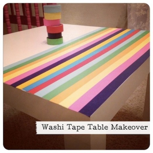 Washi tape Ιδέες διακόσμησης4