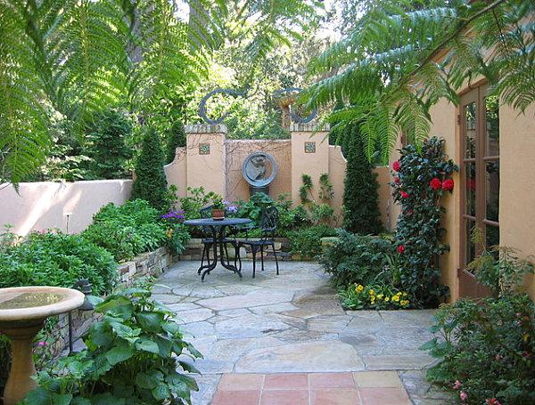 σχεδιασμός μικρής αυλής και κήπου1