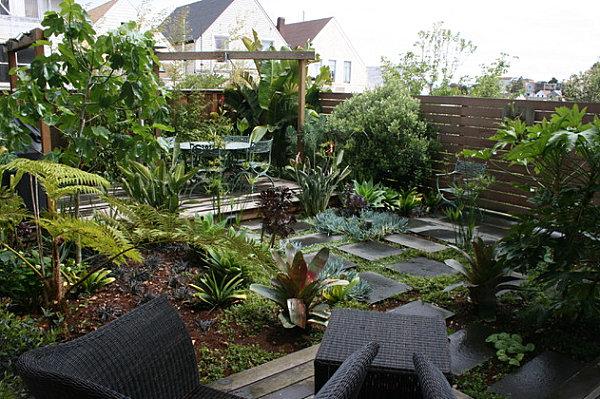 σχεδιασμός μικρής αυλής και κήπου14