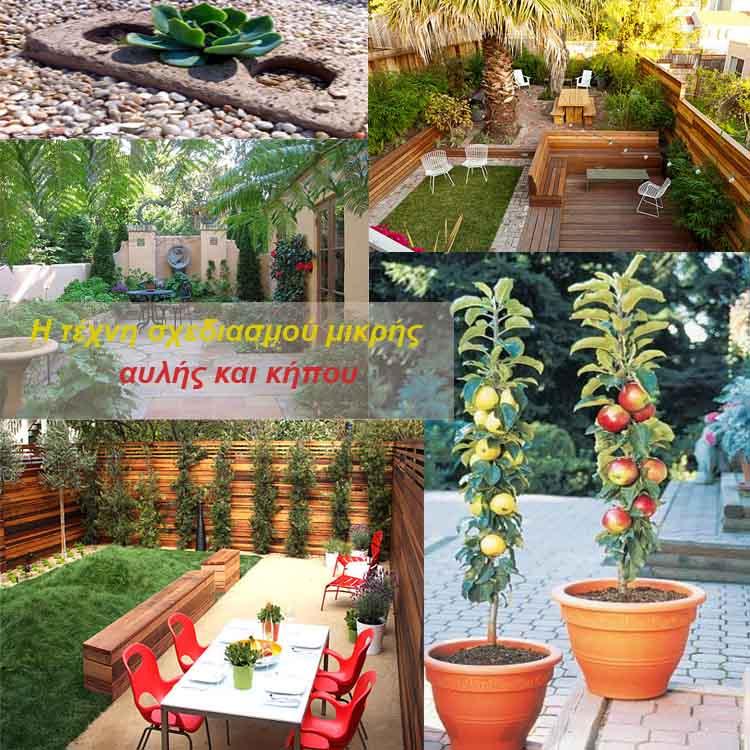 σχεδιασμός μικρής αυλής και κήπου16