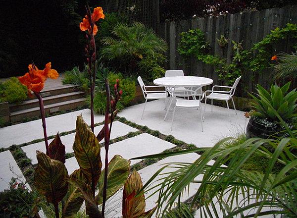 σχεδιασμός μικρής αυλής και κήπου8