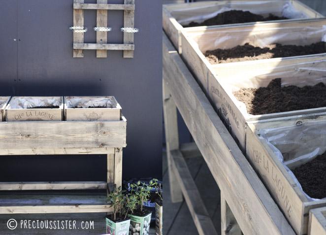 Diy κήπος με βότανα στο μπαλκόνι1