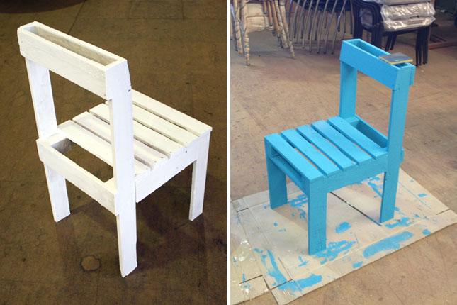 diy παλετοκατασκευή τραπεζάκι  με καρέκλες για τον κήπο10