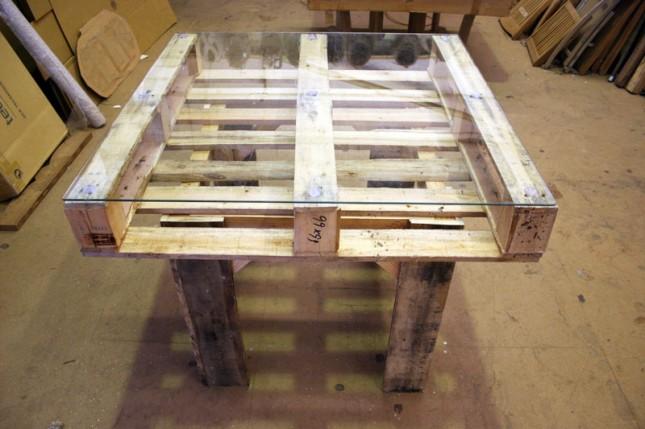 diy παλετοκατασκευή τραπεζάκι  με καρέκλες για τον κήπο16