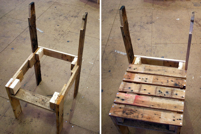 diy παλετοκατασκευή τραπεζάκι  με καρέκλες για τον κήπο8