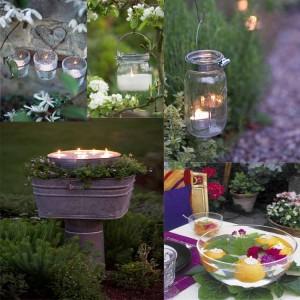 Καλοκαιρινές ιδέες για φωτισμό κήπου8