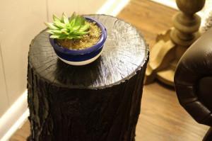 Diy τραπεζάκι από κούτσουρο δέντρου