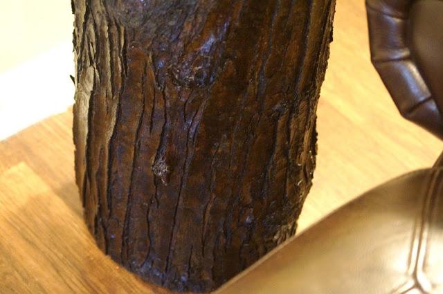 Diy τραπεζάκι από κούτσουρο δέντρου5