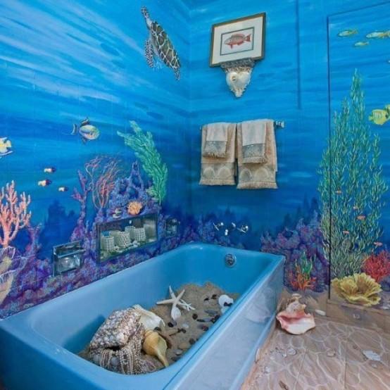 θαλασσινή διακόσμηση για υπνοδωμάτια και μπάνια22