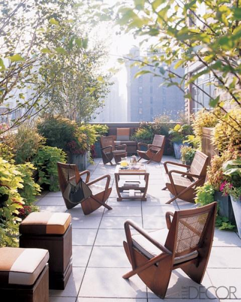ιδέες για Κήπους στην ταράτσα 1