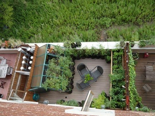 ιδέες για Κήπους στην ταράτσα 10