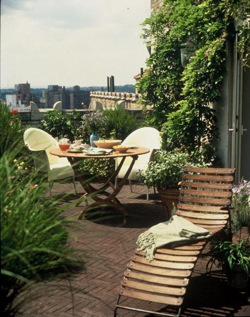 ιδέες για Κήπους στην ταράτσα 2