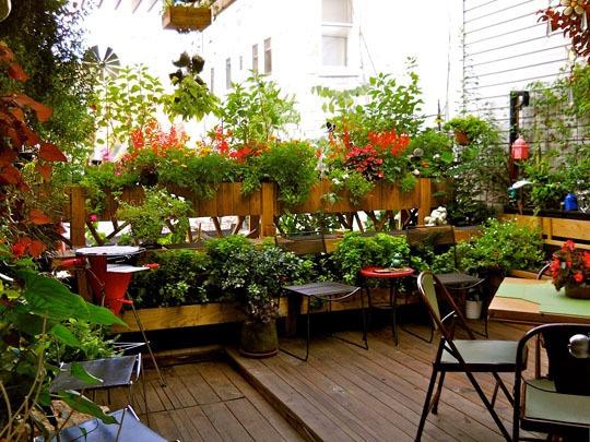 ιδέες για Κήπους στην ταράτσα 7