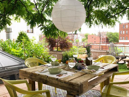 ιδέες για Κήπους στην ταράτσα 8