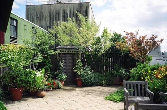 ιδέες για Κήπους στην ταράτσα 9