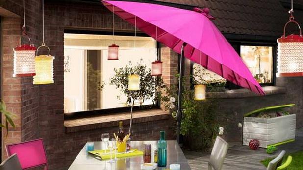 πρακτικές Ομπρέλες για διακοσμήσεις κήπου1