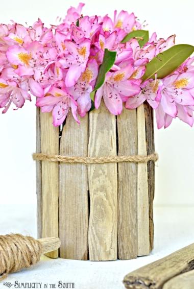 υπέροχο driftwood βάζο