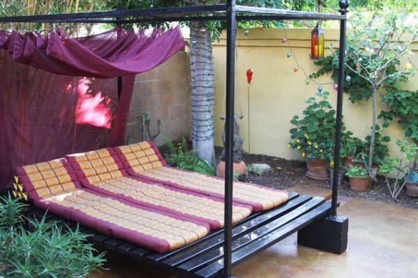 Εξωτερικά κρεβάτια ιδέες
