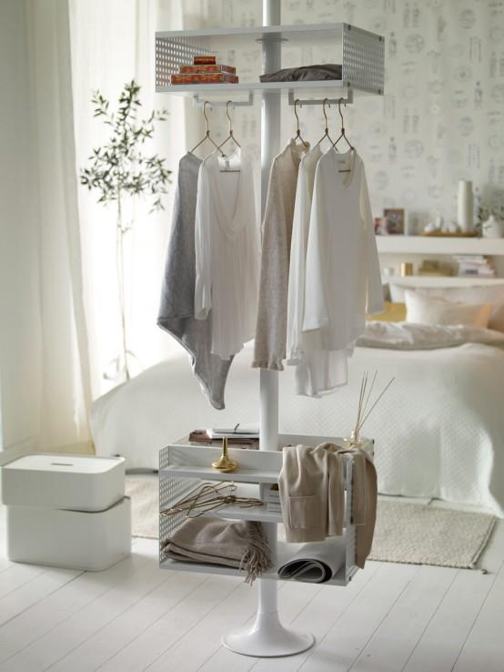 Κομψός Σχεδιασμός Υπνοδωμάτιου με Χρυσό και Λευκό1