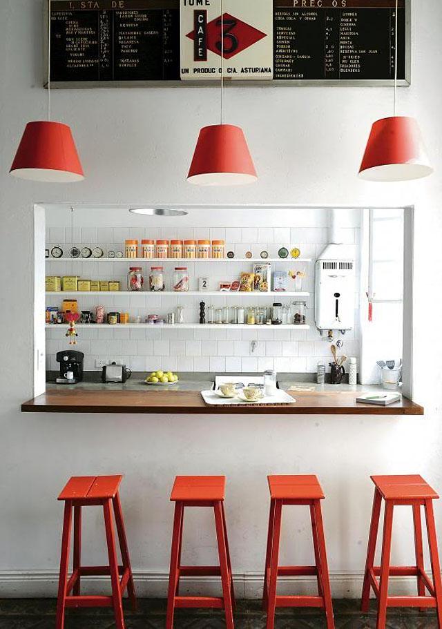 Υπέροχες ιδέες για το σπίτι σας με συνδυασμό Λευκού και Κόκκινου χρώματος1