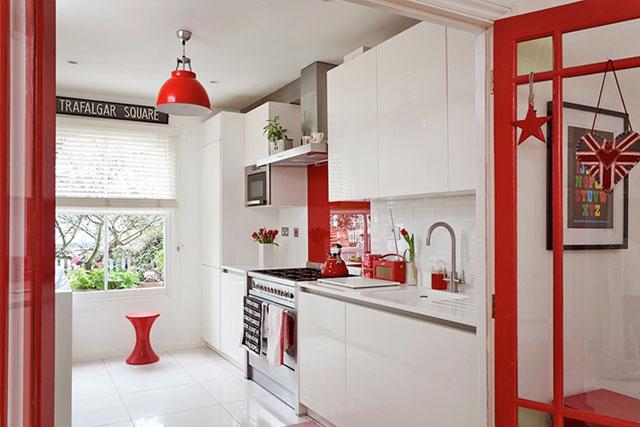 Υπέροχες ιδέες για το σπίτι σας με συνδυασμό Λευκού και Κόκκινου χρώματος2