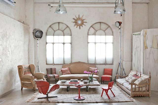 Υπέροχες ιδέες για το σπίτι σας με συνδυασμό Λευκού και Κόκκινου χρώματος8