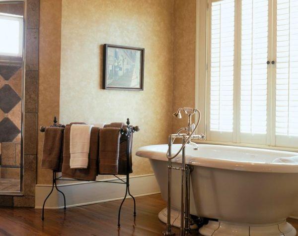 ιδέες για να οργανώσετε και να εκθέσετε τις πετσέτες στο μπάνιο σας11