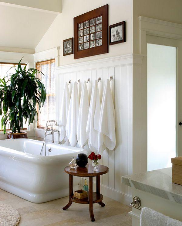 ιδέες για να οργανώσετε και να εκθέσετε τις πετσέτες στο μπάνιο σας3