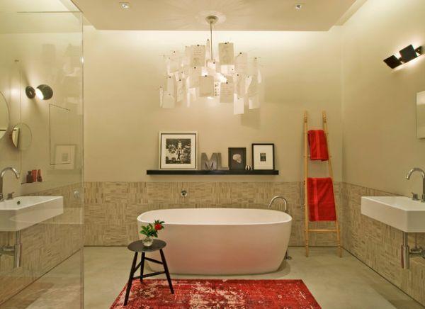 ιδέες για να οργανώσετε και να εκθέσετε τις πετσέτες στο μπάνιο σας6