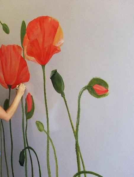 ιδέες με λουλούδια παπαρούνας στη διακόσμηση του σπιτιού σας