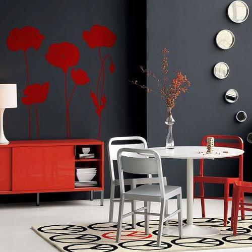 Υπέροχες Ιδέες για το πως να προσθέσετε σχέδια λουλουδιών παπαρούνας στη διακόσμηση του σπιτιού σας