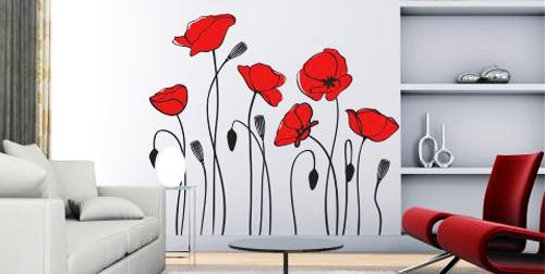 ιδέες με λουλούδια παπαρούνας στη διακόσμηση του σπιτιού σας7