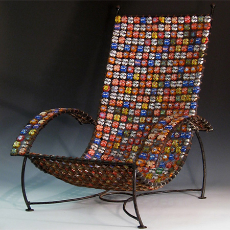 Απίθανες Ιδέες με κατασκευές από καπάκια μπουκαλιών