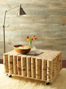 Όμορφα DIY τραπεζάκια από κορμούς δέντρου1