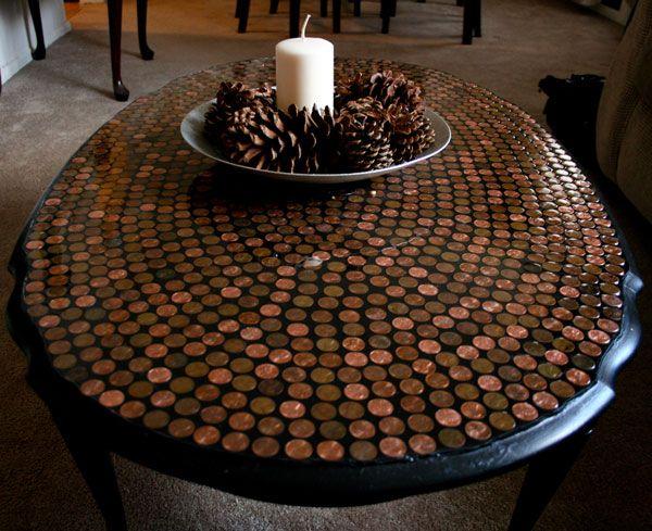 DIY Ιδέες από μικρά σε αξία κέρματα11