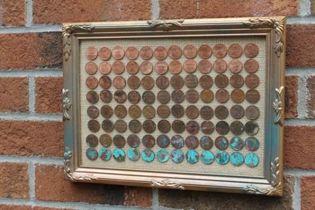 DIY Ιδέες από μικρά σε αξία κέρματα12