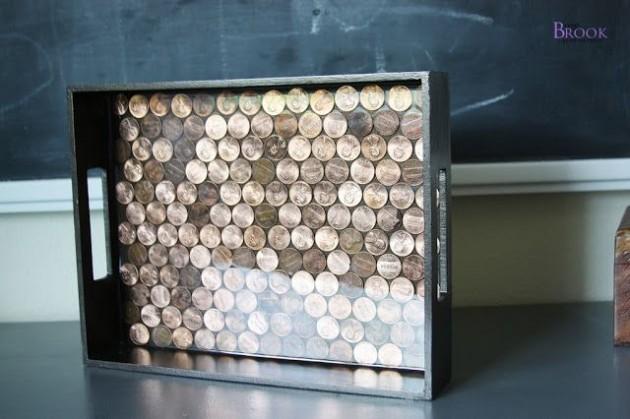 DIY Ιδέες από μικρά σε αξία κέρματα19
