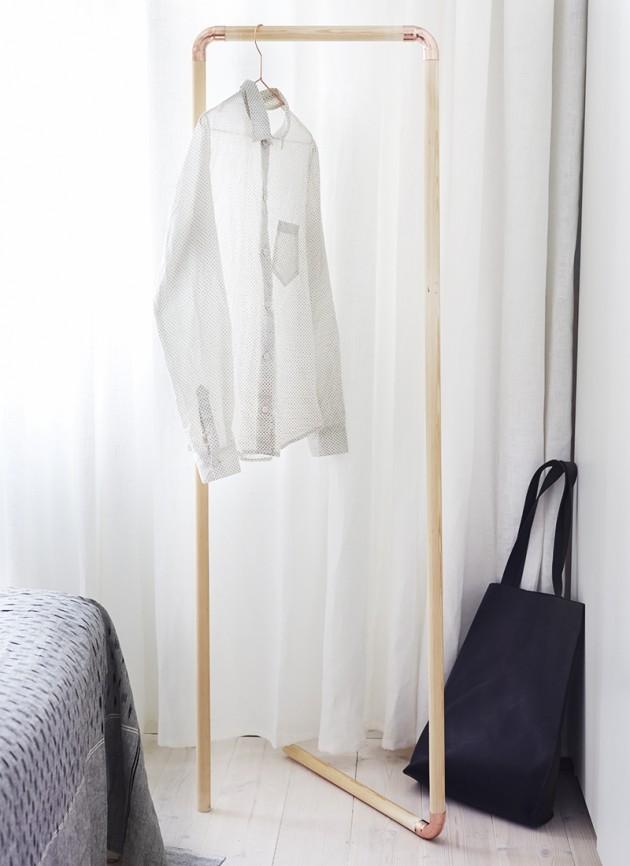 DIY ιδέες αποθήκευσης ρούχων15