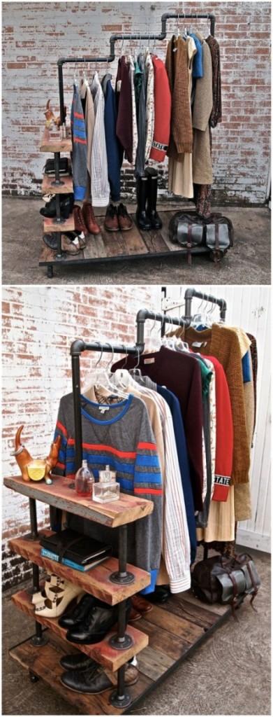 DIY ιδέες αποθήκευσης ρούχων17