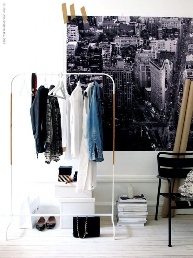 DIY ιδέες αποθήκευσης ρούχων18