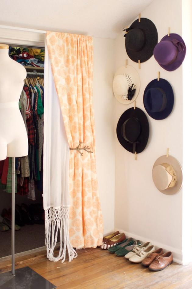 DIY ιδέες αποθήκευσης ρούχων26