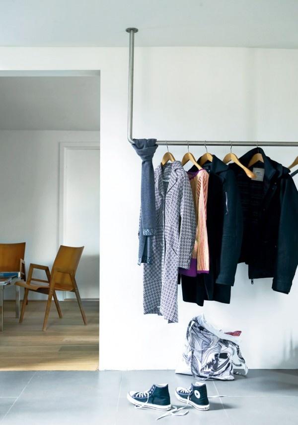 DIY ιδέες αποθήκευσης ρούχων8